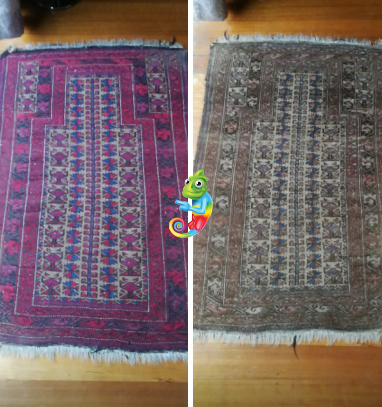 Oriental Rug Dyeing